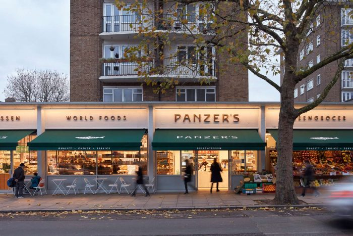 Panzer's St John's Wood HOLLAND HARVEY ARCHITECTS